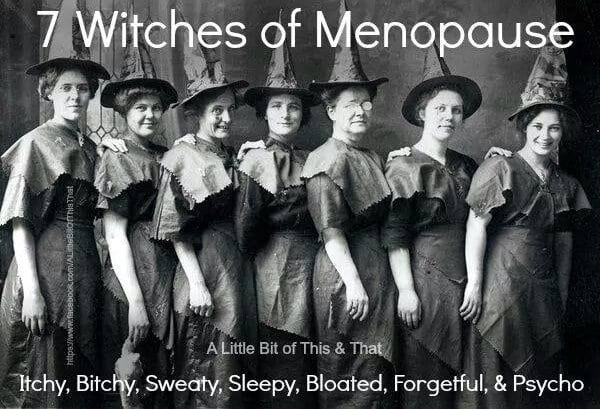Signs! Symptoms! Menopause!