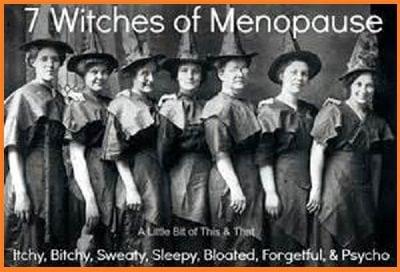 signs! symptoms! menopause!